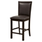 Davenport Pub Chair - Faux Leather, Espresso - ALP-5442-02