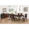 Palisades 7-Piece Dining Set - Merlot