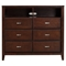 Carrington Media Chest - Merlot - ALP-CA-11