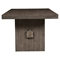 Fiji Dining Table - Weathered Gray - ALP-ORI-814-01
