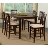 Deco 7 Piece Pub Set w/ Butterfly Extension Table