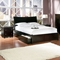 Milano Platform Sleigh Bed w/ Flat Panel Footboard and Drawers - ATL-MILPBFPFD
