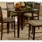 Montreal 39 x 39 Solid Top Contemporary Square Pub Table - ATL-MO39X39SPT