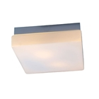 Lynch Ceiling Light - White Glass, Square
