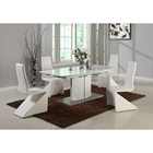 Elizabeth Extension Rectangular Dining Table - Matt White