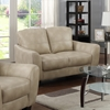Fremont Bonded Leather Loveseat - Taupe