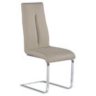 Jacquelin Side Chair - Back Handle, Taupe (Set of 2)