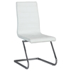 Janet Side Chair - High Back, Brewer Style, White (Set of 2)