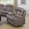 Modesto Reclining Leather Air Chair - Gray - CI-MODESTO-CHR-GRY