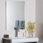 Flora Frameless Wall Mirror