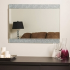 Dune Rectangular Frameless Mirror