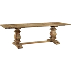 Rise Extendable Wood Dining Table - Brown