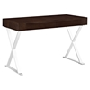 Sector Rectangular Office Desk - Walnut