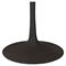 Drive Wood Top Dining Table - Round, Pedestal, Brown - EEI-1197-BRN-SET