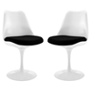 Lippa Dining Side Chair - Black (Set of 2)