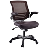 Edge Mesh Back Office Chair - Adjustable Height, Brown