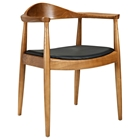 Tracy Kennedy Wood Dining Armchair