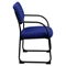 Fabric Executive Chair - Sled Base, Navy - FLSH-BT-508-NVY-GG