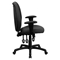 Executive Swivel Office Chair - Multi Functional, High Back, Gray - FLSH-BT-6191H-GY-GG