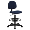 Fabric Drafting Chair - Navy