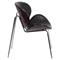 Bentwood Chair - Black Leather, Mahogany - FLSH-SD-2268A-7-GG