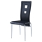 Edgar Dining Chair - Black - GLO-D1057DC-M