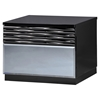Manhattan Nightstand, High Gloss Black