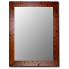 Crewe Rectangular Bevel Mirror - Made in USA
