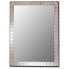 Dalbert Bevel Mirror in Parma Silver - Made in USA