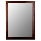 Derwood Bevel Mirror in Brazilian Walnut - Made in USA