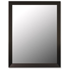 Vinson Classic Rectangular Mirror in Angle Iron Black - Made in USA