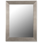 Vienna Grande Mirror in Baroni Silver - Made in USA