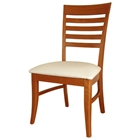Roma Dining Chair with Upholstered Seat