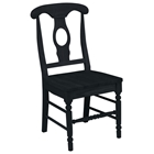 Empire Chair with Solid Wood Seat
