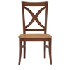X-Back Dining Chair in Cinnamon and Espresso