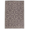 Capri Grey Hand Tufted Rug with Twisted New Zealand Wool