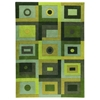 Carley Hand Tufted Wool Rug in Green