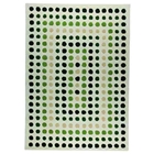 Georgina Hand Tufted Wool Rug in Green