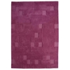 Ingrid Hand Tufted Wool Rug in Fuchsia