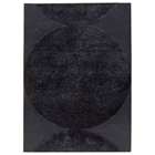Keeley Hand Tufted Wool Rug in Black