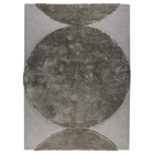 Keeley Hand Tufted Wool Rug in Silver