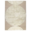 Keeley Hand Tufted Wool Rug in Off-White