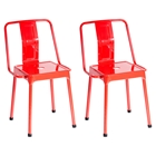 Energy Chair - Red (Set of 2)