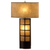 Ventana Wooden Table Lamp