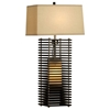 Kimura Standing Table Lamp with Wood Slats