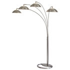 Saucer 4-Light Arc Lamp
