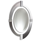 Intersections Oval Mirror