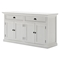 Halifax Classic Buffet Table - Pure White - NSOLO-B127