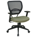 Space Seating 55 Series Professional Fabric Seat Managers Chair