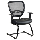 Space Seating 57 Series Professional AirGrid Back Visitors Chair